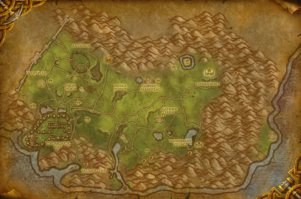 How To Get To Arathi Highlands Bfa
